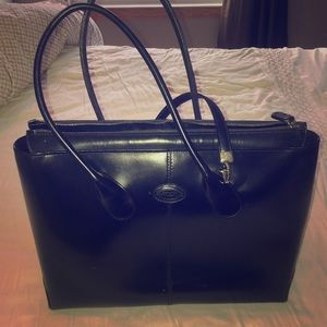 Tod's Leather Structured Handbag